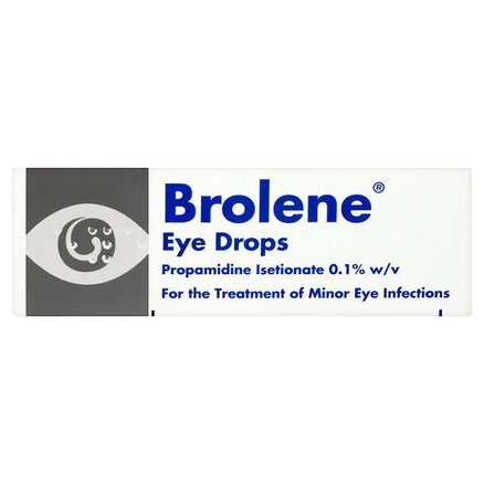 Brolene 0.1% w/v Eye Drops 10ml