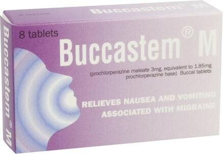 Buccastem M - 8 Tablets