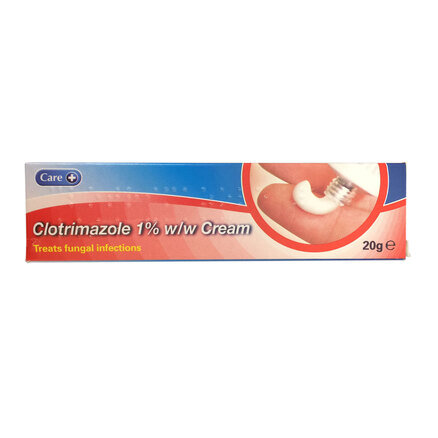 Clotrimazole 1% Antifungal Cream