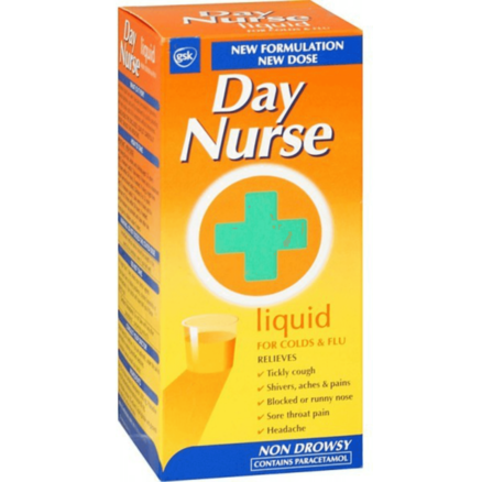 Day Nurse Cold and Flu Liquid 240ml
