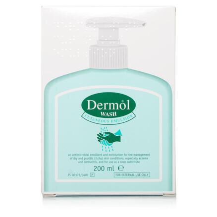 Dermol Wash Emulsion - 200ml