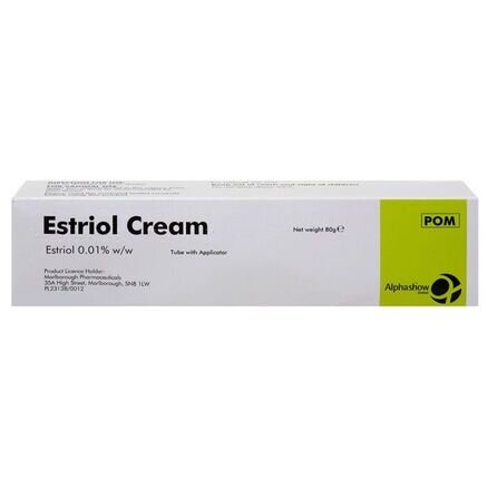 Estriol 0.01% Cream - 80g