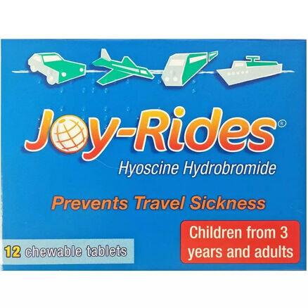 Joy Rides Travel Sickness - 12 Tablets