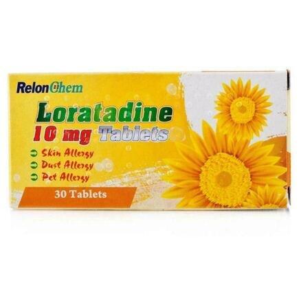 Loratadine 10mg Film-coated Tablets - 30 Tablets