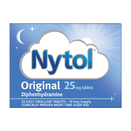 Nytol Original 25mg Tablets - 20 Tablets