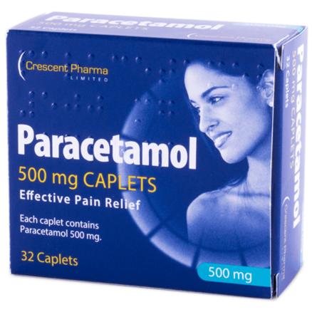 Paracetamol 500mg - 32 Caplets