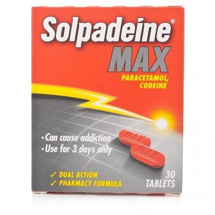 Solpadeine Max - 30 Tablets