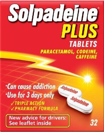 Solpadeine Plus - 32 Tablets